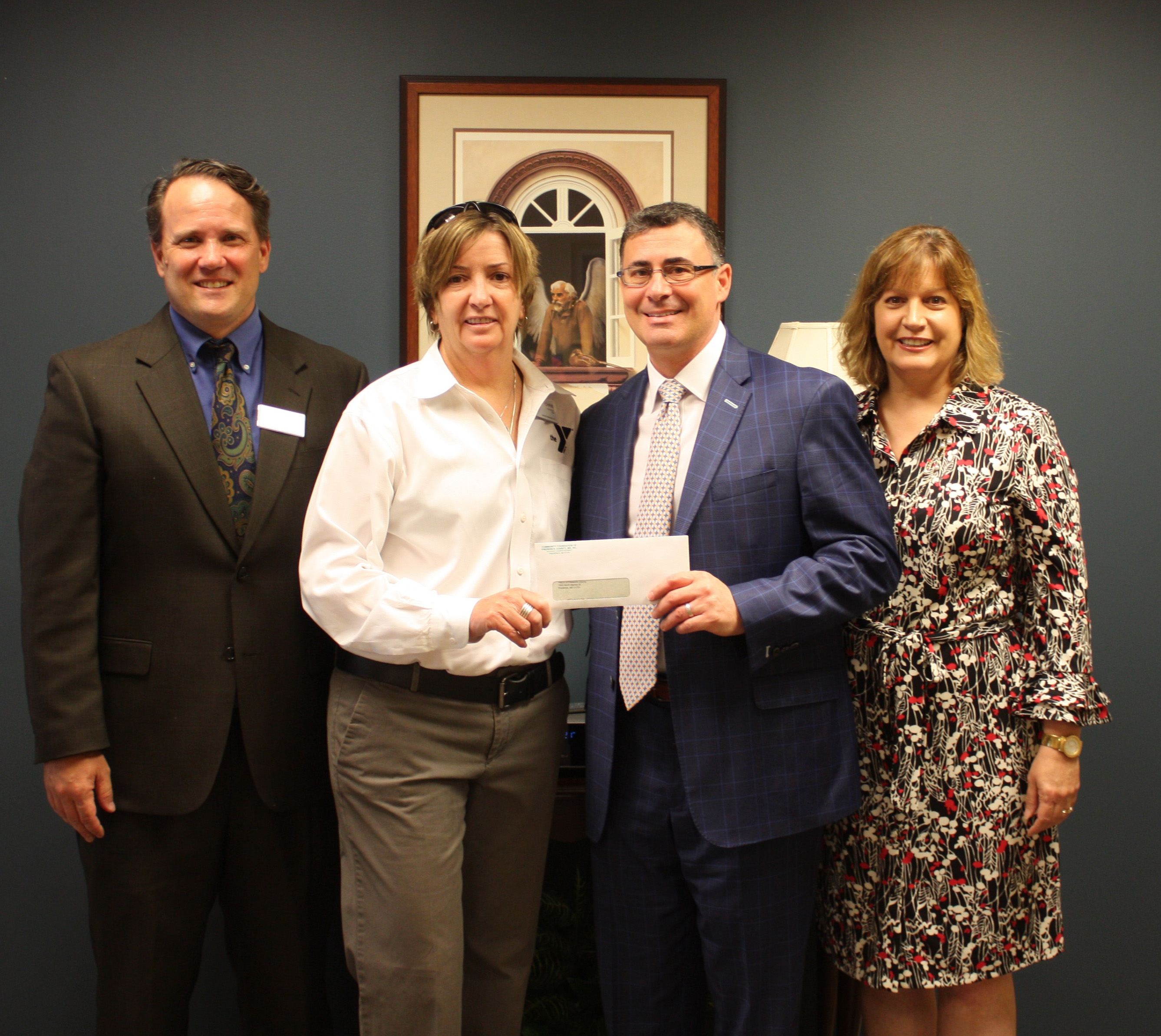 Community Foundation Provides Rebuilding Grant to YMCA