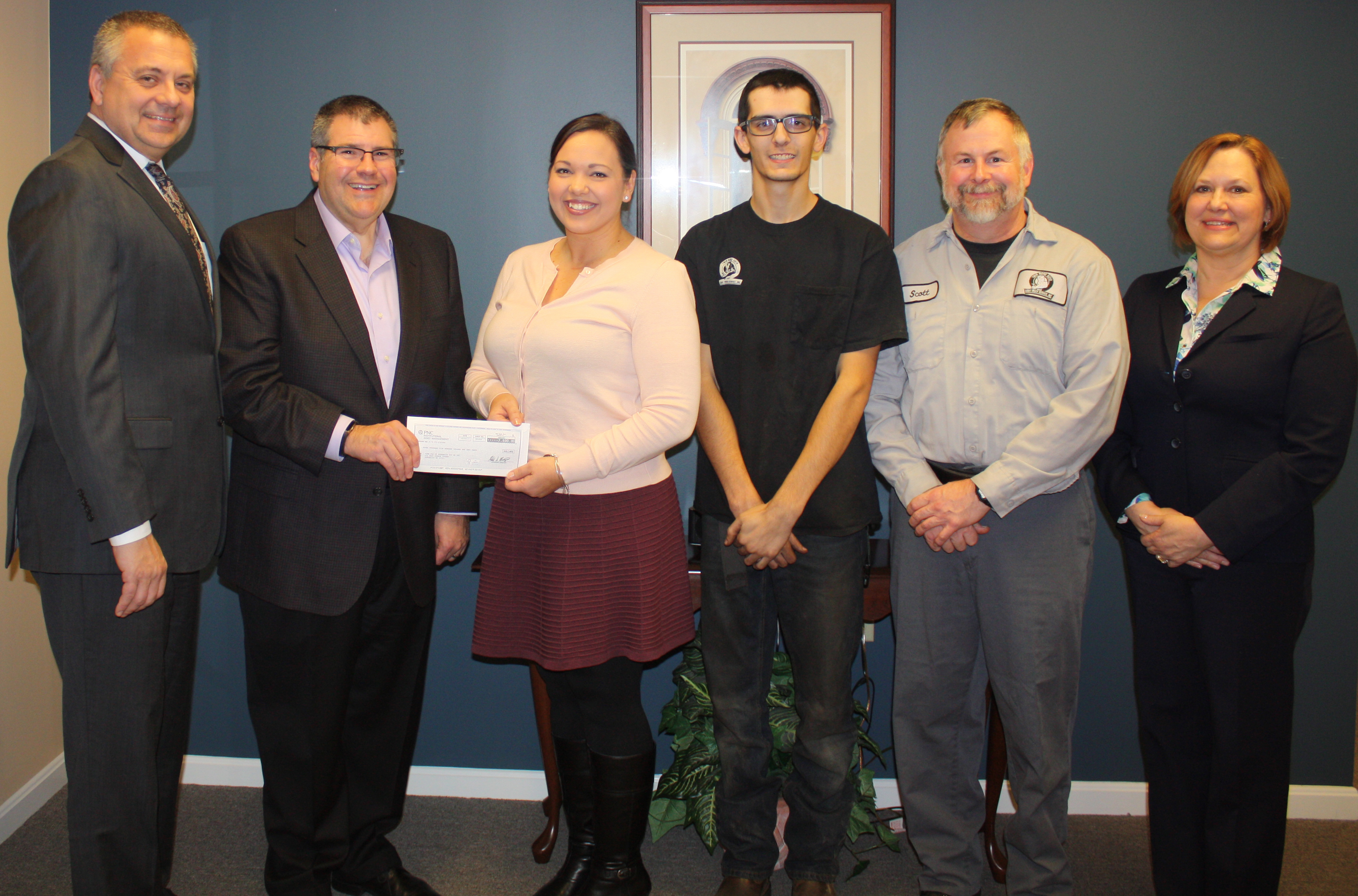 First Grant from Business Roundtable Fund Supports Youth Apprenticeship Program