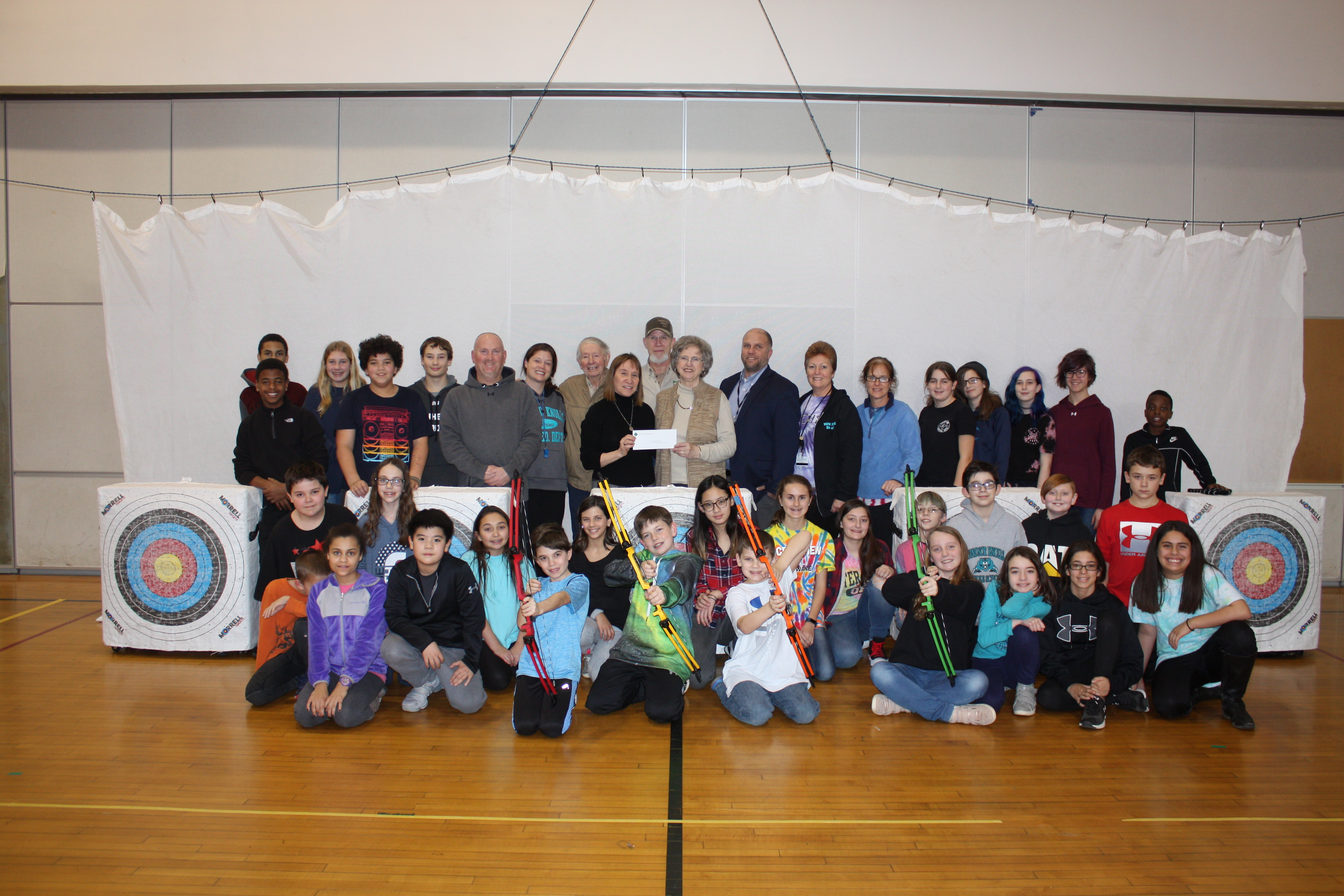 Growing Archery Program at Windsor Knolls Middle School Receives Grant Support