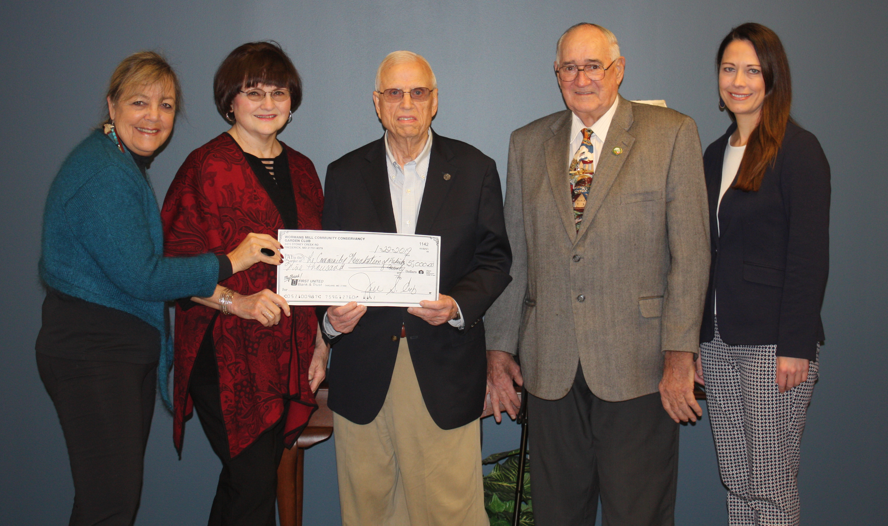 Worman's Mill Garden Club Supports Maryland Master Farmers Fund