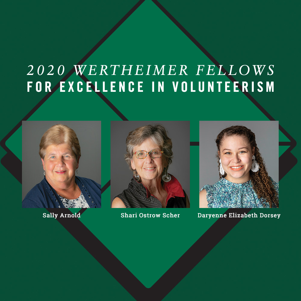 The 2020 Wertheimer Honorees